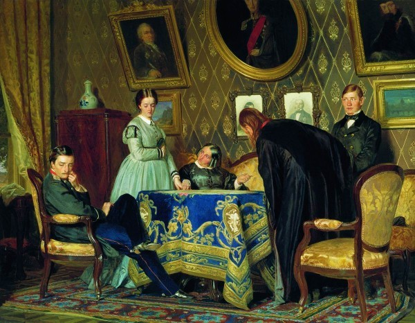 Воспитанница. Н.В. Неврев. 1867