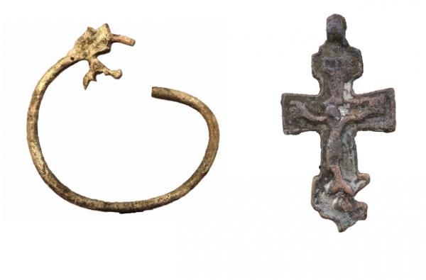 Предметы, найденные в Зарядье. Фото: Институт археологии РАН