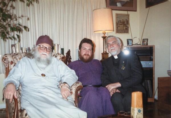 С епископом Василием (Родзянко) в Америке