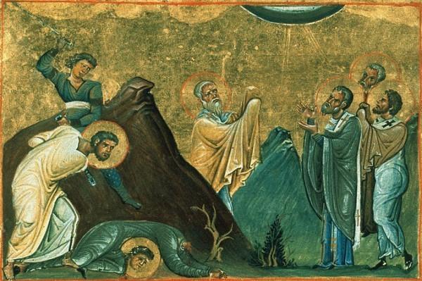 Церковь чтит память апостолов от 70-ти: Ераста, Олимпа, Родиона, Сосипатра, Куарта и Тертия
