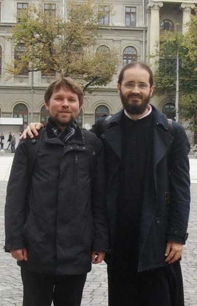 С иеромонахом Серафимом