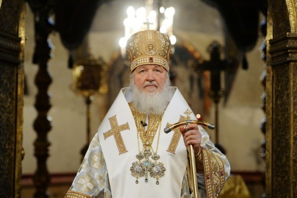 Многая лета Святейшему Патриарху Кириллу!