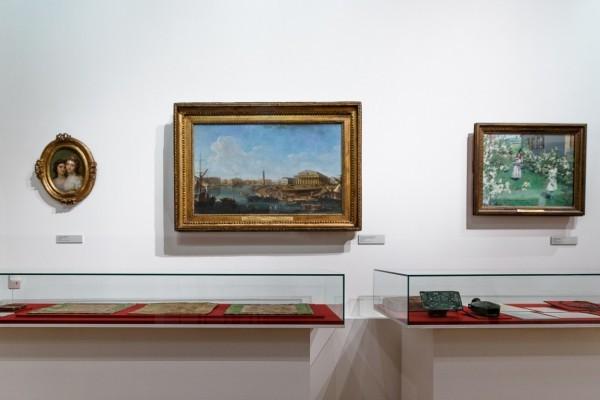 Картины из коллекции великокняжеской четы, переданный в дар Третьяковской галерее.