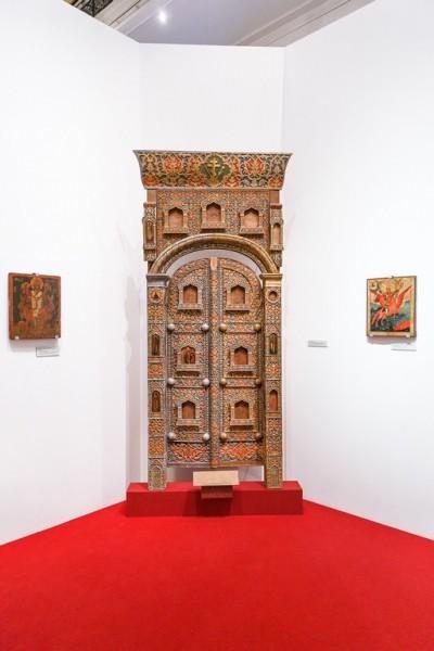 Царские врата и иконы из храма в великокняжеском имении Ильинское.