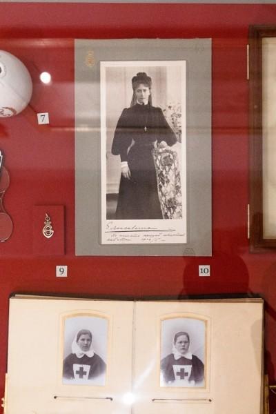 Портрет великой княгини Елизаветы Федоровны в траурном платье