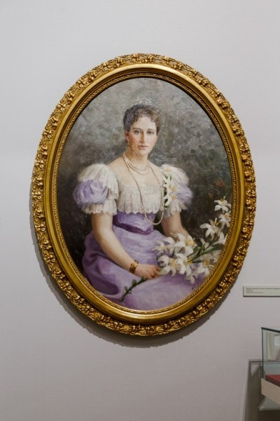 4.Портрет великой княгини Елизаветы Федоровны, Рерберг Ф.И.
