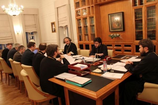 Состоялось заседание Ученого совета Общецерковной аспирантуры и докторантуры