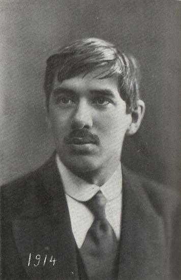 Николай Корнейчуков (Корней Чуковский). 1914 год.