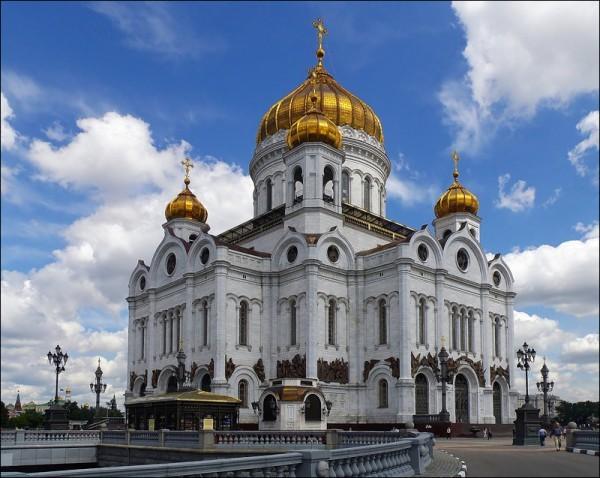 За год в Москве прибавилось 54 храма