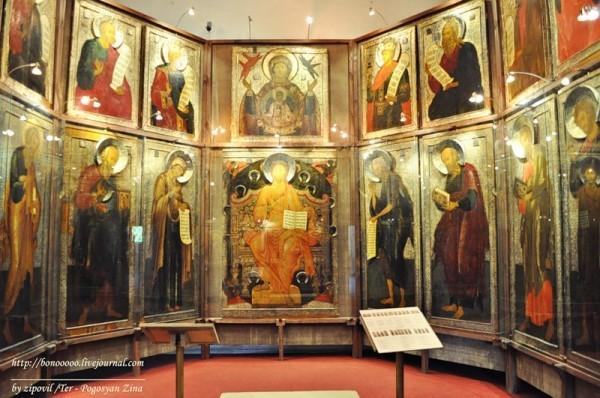 Четвертое за последний век богослужение состоится в музее Рублева
