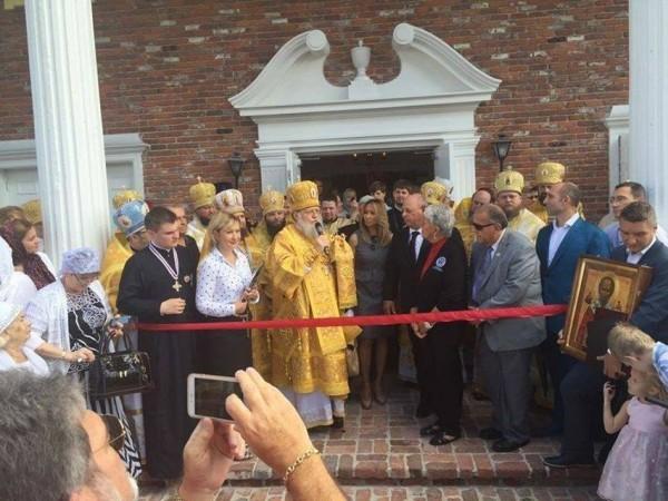 Самый большой православный храм штата освящен во Флориде