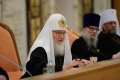 Патриарх Кирилл: Задачей Церкви является уменьшение числа разводов