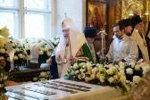 Патриарх Кирилл: Духовный образ Патриарха Алексия II сохранится в памяти верующих