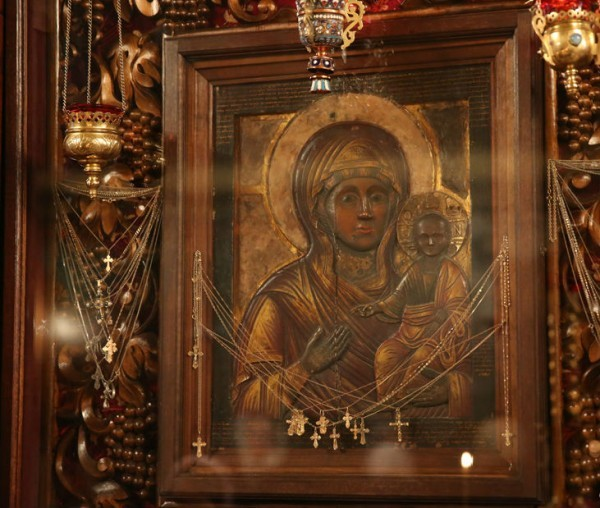 Старинный список Влахернской иконы Божией Матери вернется в Высоко-Петровский монастырь