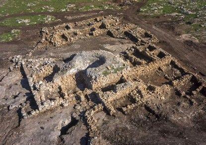 В Израиле нашли монастырь византийского периода