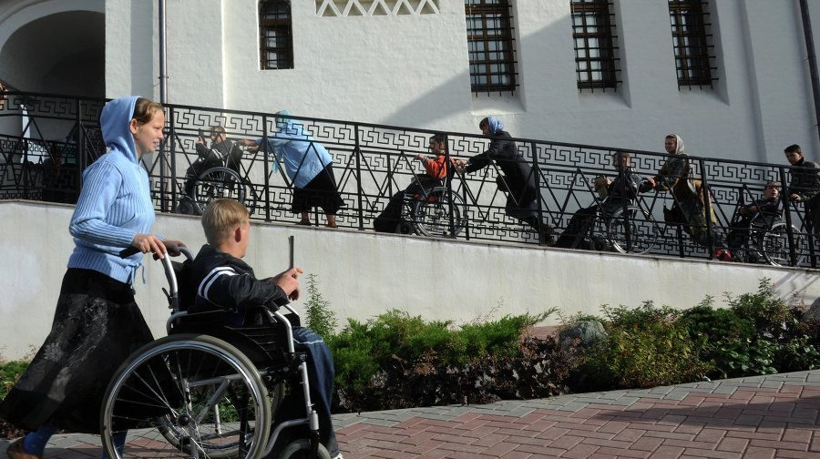 Архитектор Андрей Оболенский: «Я предлагаю построить специальный храм для инвалидов»
