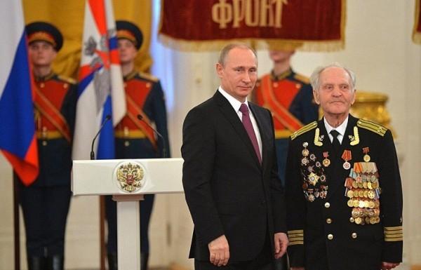 Скончался один из последних участников штурма рейхстага Николай Беляев