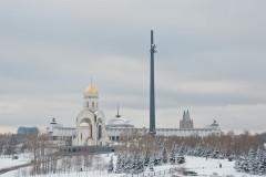 На Поклонной горе освящен закладной камень будущего монумента чернобыльцам