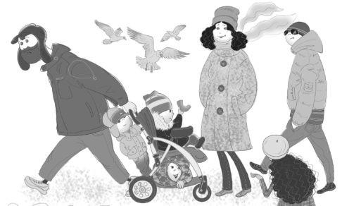 Большая семья. День карапузов