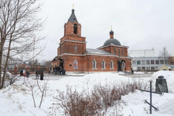 Храм Преподобного Сергия Радонежского в Бусинове