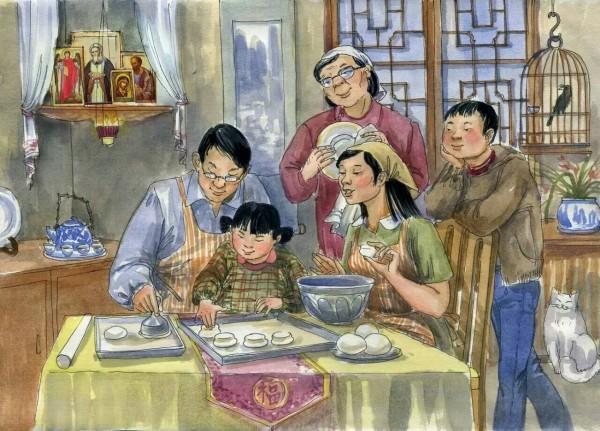 «Завтра воскресенье» – иллюстрации книги для православных китайцев (+фото)