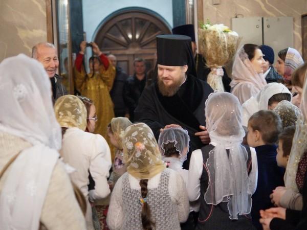 В Свято-Никольском храме Калуги