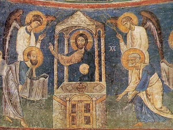 Фреска в Охриде