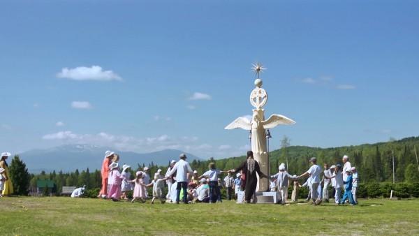 Кадр из фильма «Христос живет в Сибири»