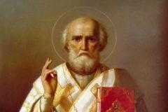 Церковь чтит память святителя Николая, архиепископа Мир Ликийских, Чудотворца