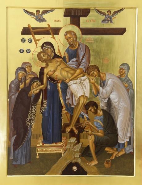 Мастерская Новотихвинского монастыря. Снятие с Креста 1