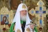 Патриарх Кирилл совершил 210 богослужений в 2015 году
