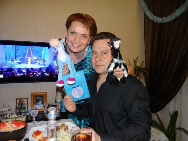 Семаковы Оксана и Алексей
