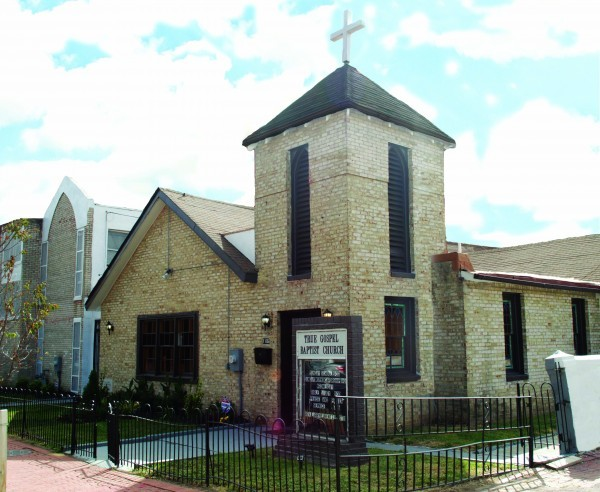 Церковь - вид с улицы