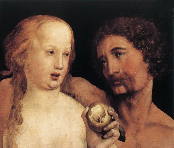 Ганс Гольбейн Младший. «Адам и Ева». Фото: allpainters.ru