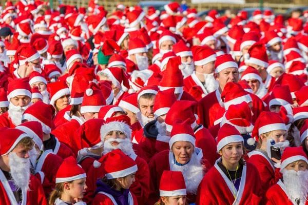 20 декабря в Москве состоится благотворительный забег Дедов Морозов