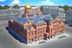 В Москве завершается реконструкция Епархиального дома