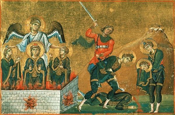 Церковь празднует память пророка Даниила и святых трех отроков Анании, Азарии и Мисаила