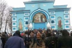 В РПЦ призывают срочно остановить насилие в селе Птичья на Украине