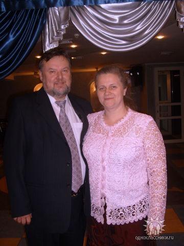 Отец Агафангел и матушка Валентина Давидовские