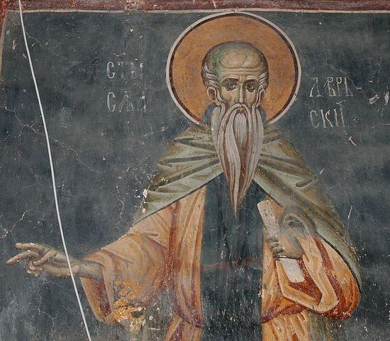 Церковь отмечает память преподобного Саввы Освященного