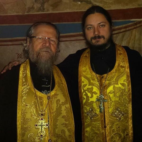 С духовным отцом, схиархимандритом Власием Перегонцевым