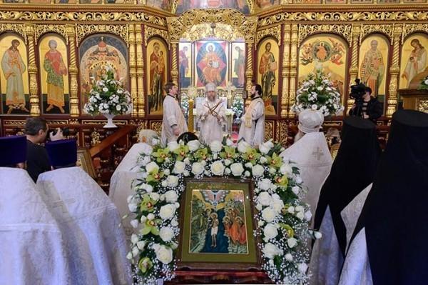 Праздник Крещения Господня  (+ фоторепортаж)