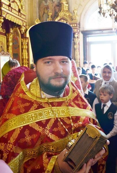 Священник Максим Горожанкин