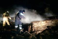 Мать и пятеро детей погибли при пожаре в Татарстане