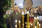 Президент России поздравил православных христиан с Рождеством