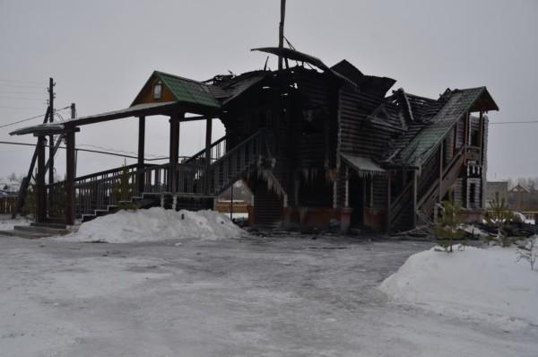 В Каменской епархии сгорел деревянный храм