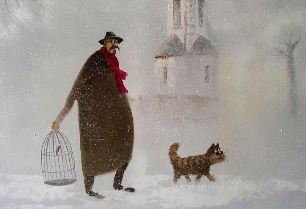 Удивительно уютные зимние картины