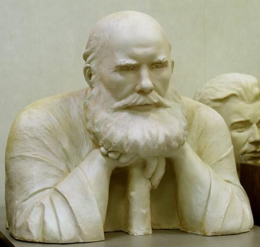 Реконструкция облика преподобного Илии по черепу (метод Михаила Герасимова, выполнена С.А. Никитиным)