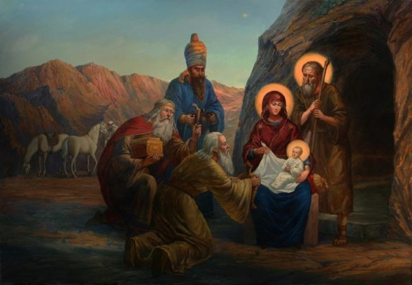 Москвитин Филипп. Рождество Христово