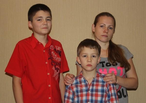 Анна, Ярослав и Тимур Некрасовы